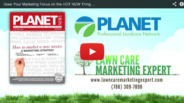Does Your Marketing Focus on the HOT NEW Thing or the RIGHT Thing? - PLANET News Magazine
