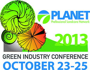 GIE EXPO 2013 PLANET Green Industry Conferance 2013