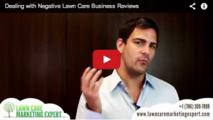 Dealing With Negative Reviews of Your Lawn Care Business on Google & Yelp
